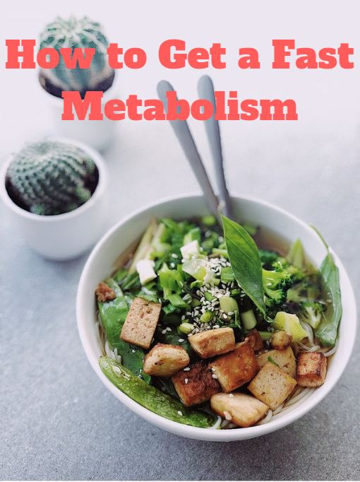 learn how to get a fast metabolism