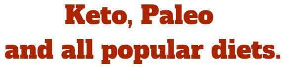 keto and paleo diets