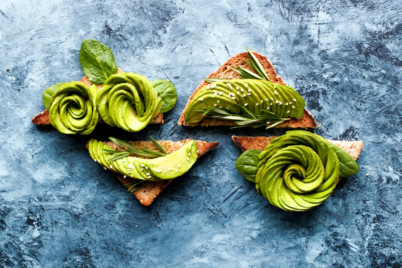 intermittent fasting- avocado toast makes a great meal