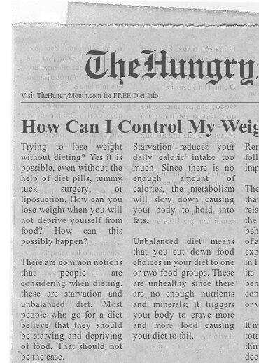 How Can I Control My Weight Without Dieting