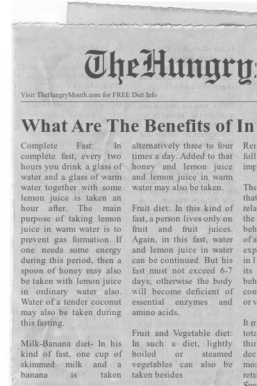 newspaper - What Are The Benefits of Intermittent Fasting for Women