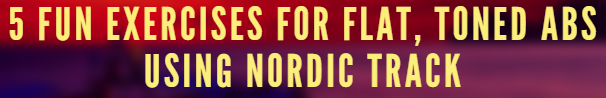 nordic track flat abs program