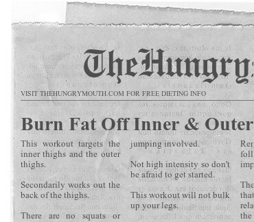 Burn Fat Off Inner & Outer Thighs