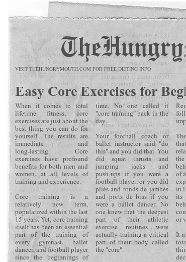 Easy Core Exercises for Beginners Home Routine