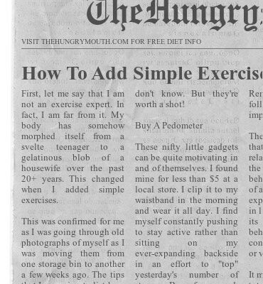How To Add Simple Exercises To Your Daily Life (You Haven't Thought Of These Before)