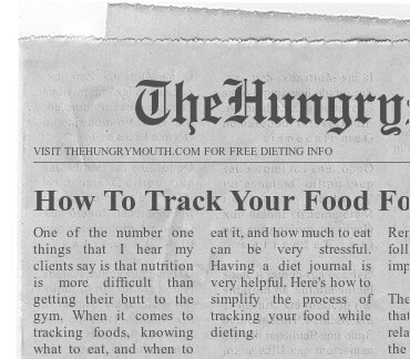 How To Track Your Food For Weight Loss