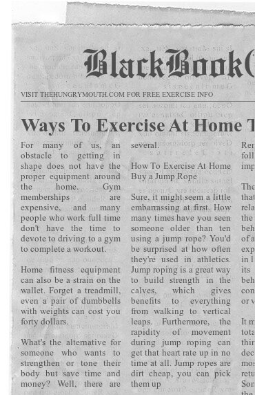 Ways To Exercise At Home That Won't Strain Your Time or Wallet