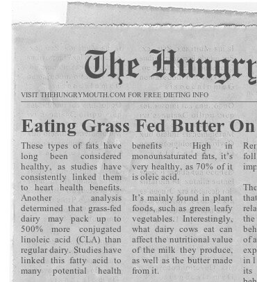 SIX REASONS TO USE GRASS-FED BUTTER