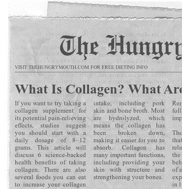 WHAT IS COLLAGEN GOOD FOR?