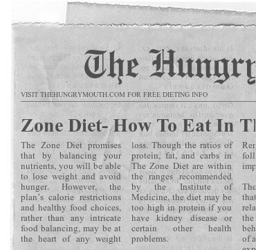 Zone Diet- How To Eat In The Zone