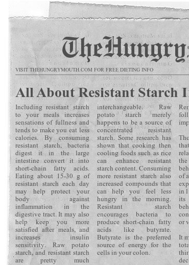 All About Resistant Starch In Your Diet (And WHY You Want It)
