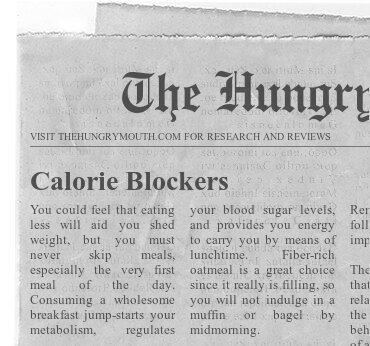 Calorie Blockers
