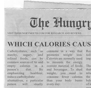 WHICH CALORIES CAUSE US TO GAIN MOST WEIGHT
