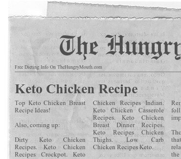 Keto Chicken Recipe