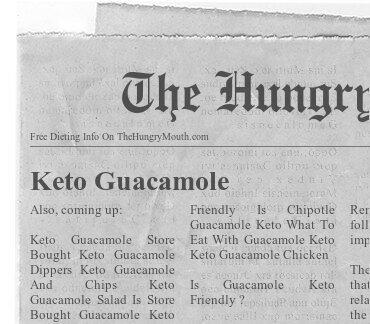 Keto Guacamole