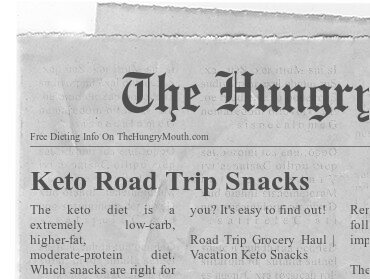Keto Road Trip Snacks