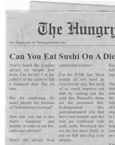 Can You Eat Sushi On A Diet?