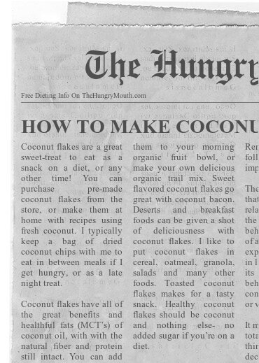 Learn How To Make Coconut Flakes at Home